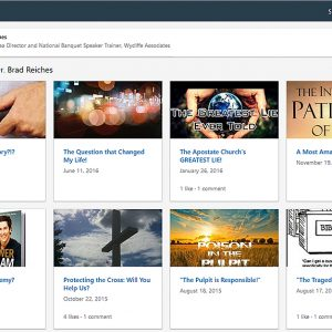 LinkedIn: View articles by Brad Reiches